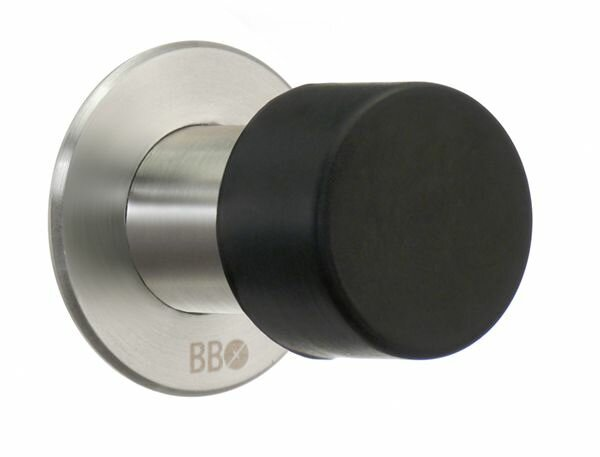 Beslagsboden Stainless Steel Baseboard Stop by Sme