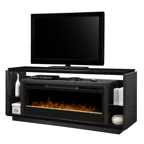 David 74 TV Stand with Fireplace by Dimplex