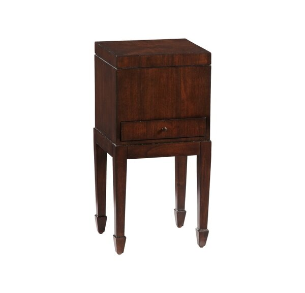 Swartz Chairside End Table by Astoria Grand