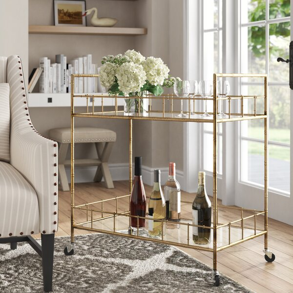 Innocenzio Bar Cart by Willa Arlo Interiors