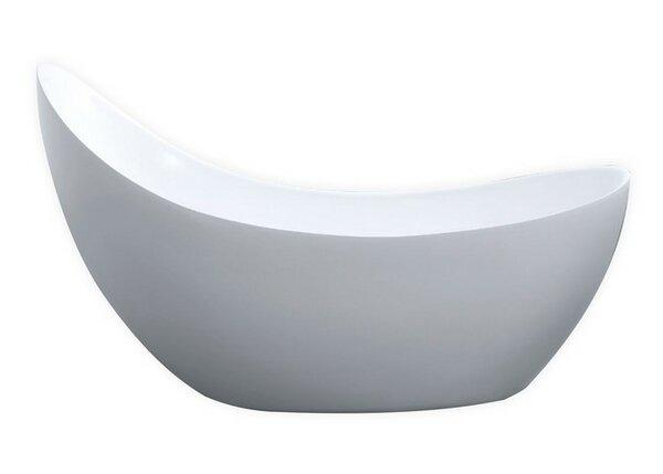 Salto 67 x 30 Soaking Bathtub by Kube Bath