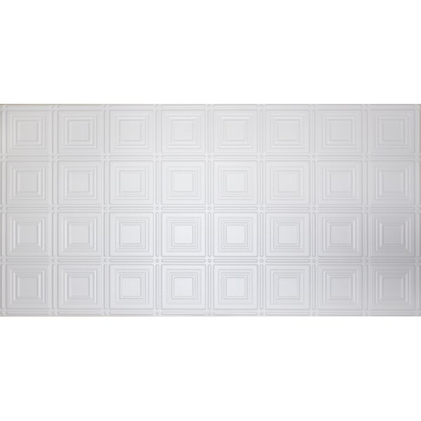 Square 2 Ft X 4 Ft Glue Up Ceiling Tile In White By Global Specialty Products.