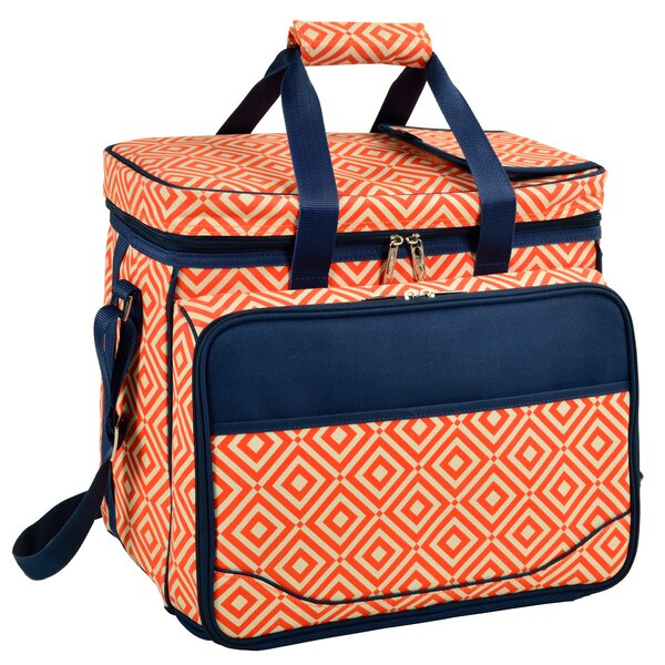 Diamond Wine and Cheese Picnic Cooler by Picnic at Ascot