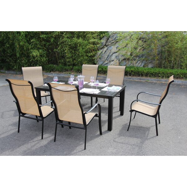 Herald 7 Piece Dining Set by Latitude Run