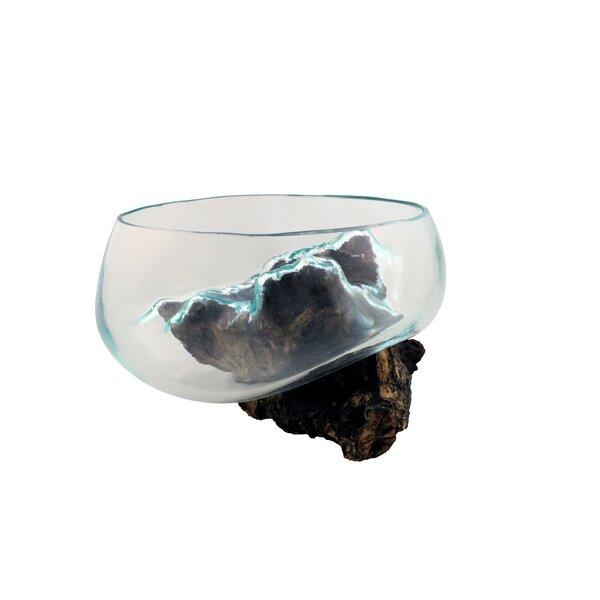 Peluso Molten Glass Full Open Top Sculpture by Loon Peak