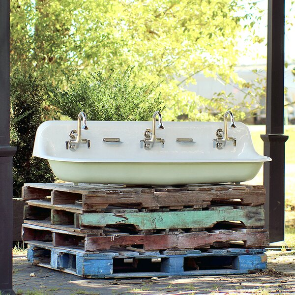 Brockway Farm Cast Iron Porcelain Trough Sink Package by Kohler