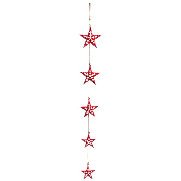 Star Metal Garland by The Holiday Aisle