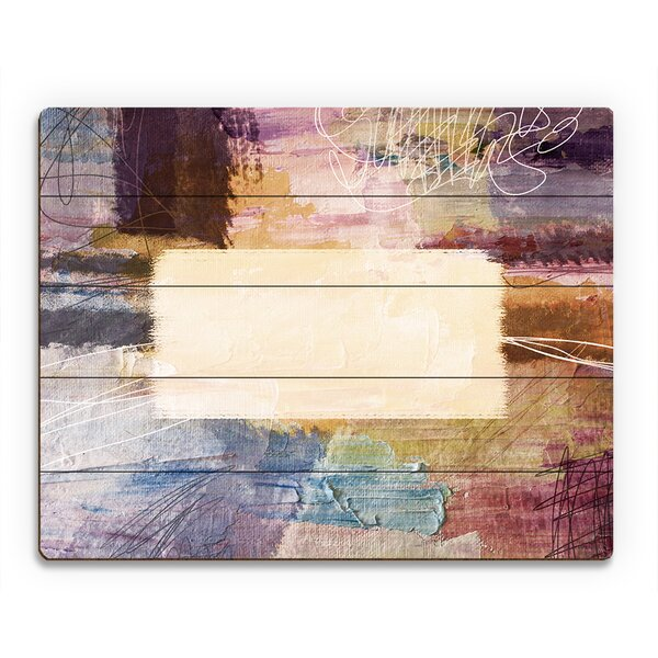 Borderline Sophisticated Painting Print on Plaque by Click Wall Art