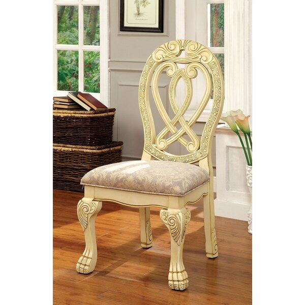 Carol Queen Anne Back Side Chair by Astoria Grand Astoria Grand