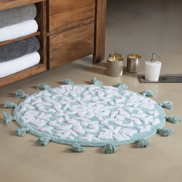Radle Round Tufted With Tassels Bath Rug by August Grove