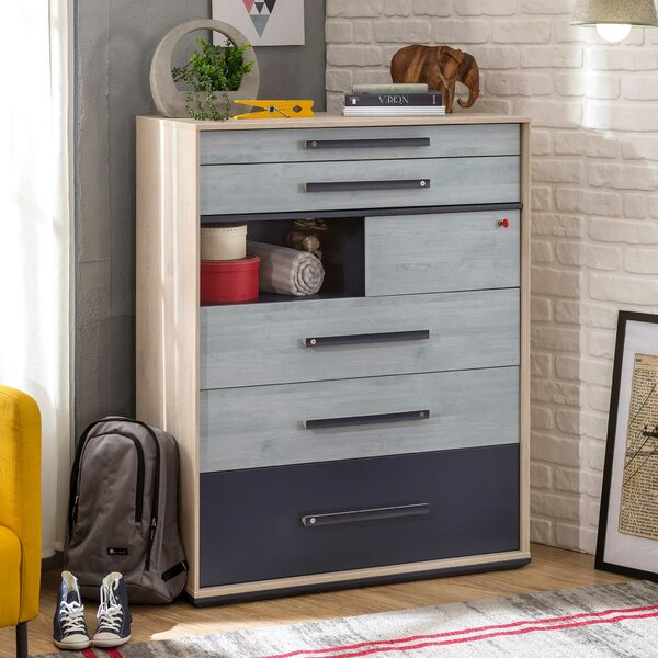 Holroyd 6 Drawer Chest by Isabelle & Max