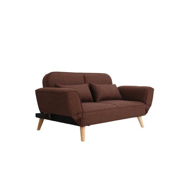 Dierks Modern Living Room Loveseat by Wrought Studio
