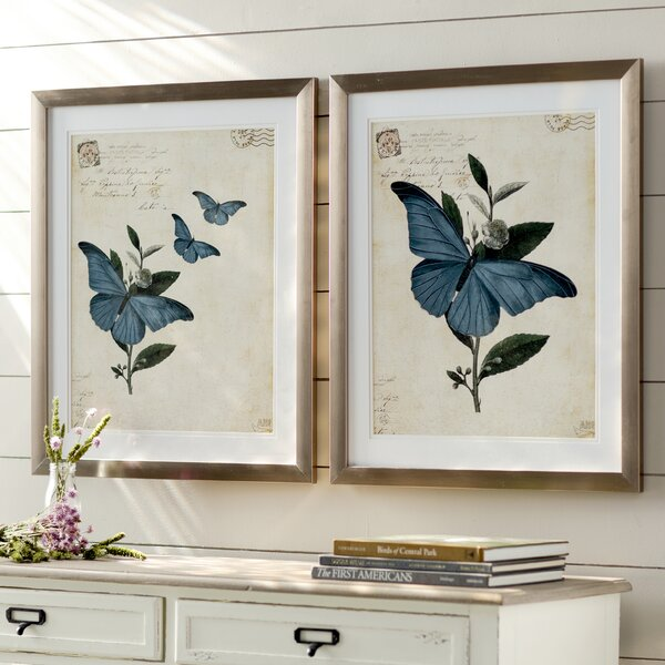 Toussaint Framed Graphic Art Set (Set of 2) by Lark Manor