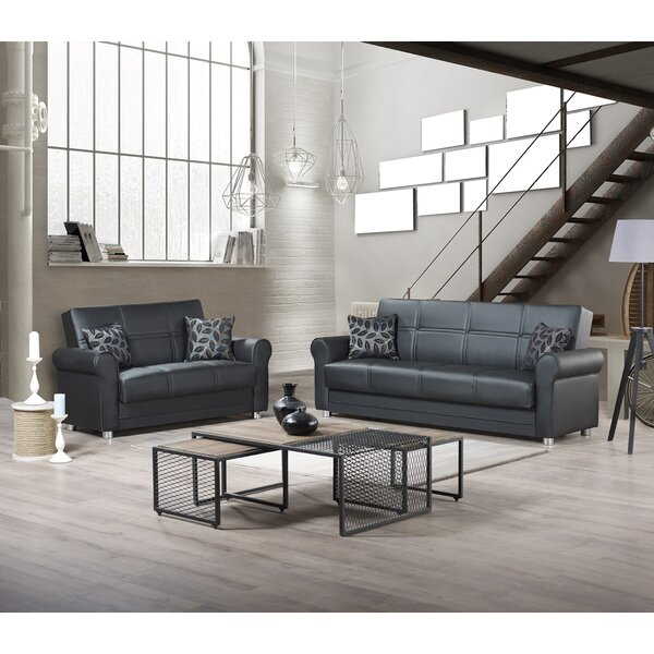 Patio Furniture Carleigh 86 Inches Rolled Arms Sleeper