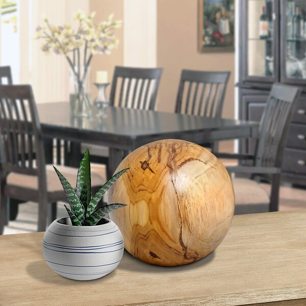 Christy Ball Sculpture by Union Rustic