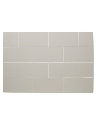 IC Brites 3 x 6 Ceramic Subway Tile in Canvas by Interceramic