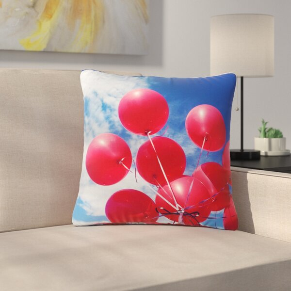 99 Love Outdoor Throw Pillow by East Urban Home