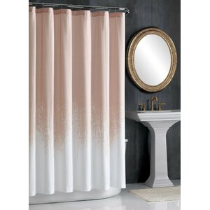 Lyon Blush Cotton Shower Curtain