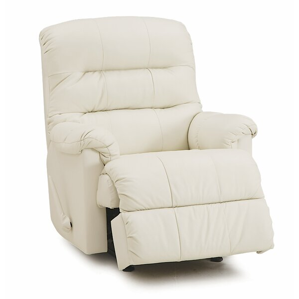 Compare  Vogler Leather Manual Recliner.  CheckPrice