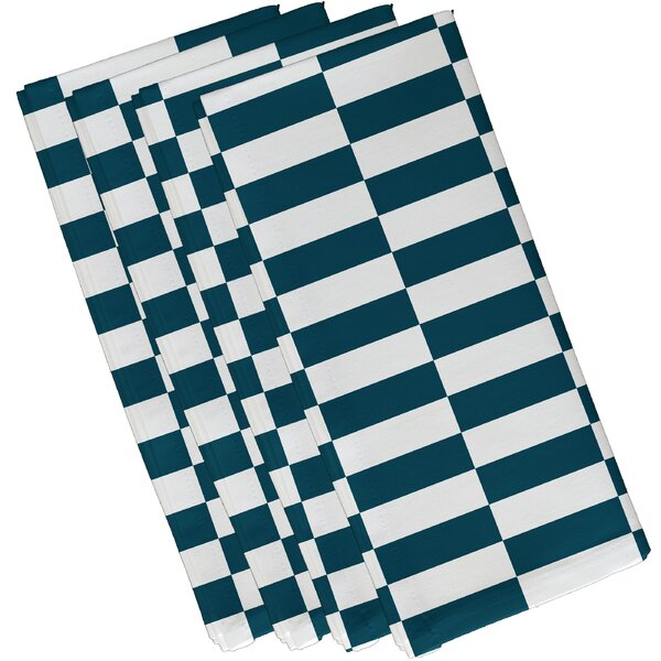 Buffington Stripe Napkin (Set of 4) by Latitude Ru