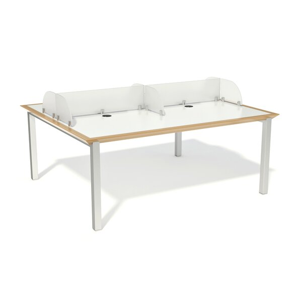Fluid Laminate Manufactured Wood 29 Multi-Student Desk by Palmieri