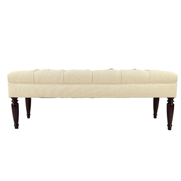 Lilianna Upholstered Bench by Winston Porter