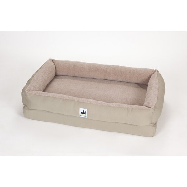 EZ Wash Fleece Lounger Poly-Filled Dog Bed by 3 Dog Pet Supply