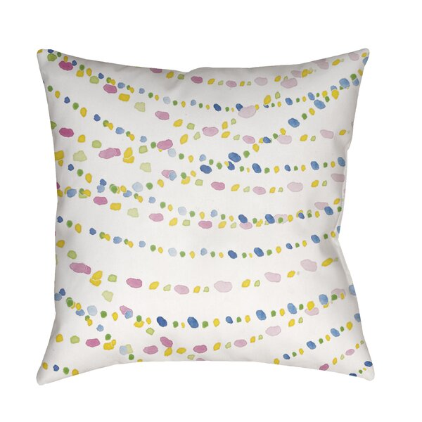 Burchett Beads Indoor/Outdoor Throw Pillow