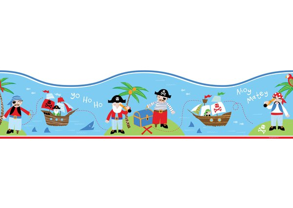 Fun4Walls Pirates Wall Mural by WallPops!