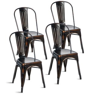 Distressed Finish Metal Kitchen U0026 Dining Chairs
