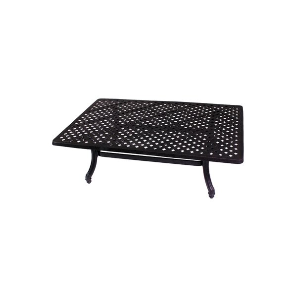 Baldwin Aluminum Coffee Table by California Outdoor Designs