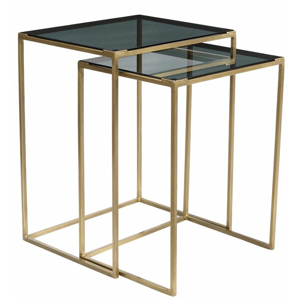 Maud 2 Piece Nesting Tables by Mercer41