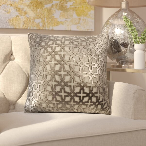 Lubec Leather Throw Pillow by House of Hampton