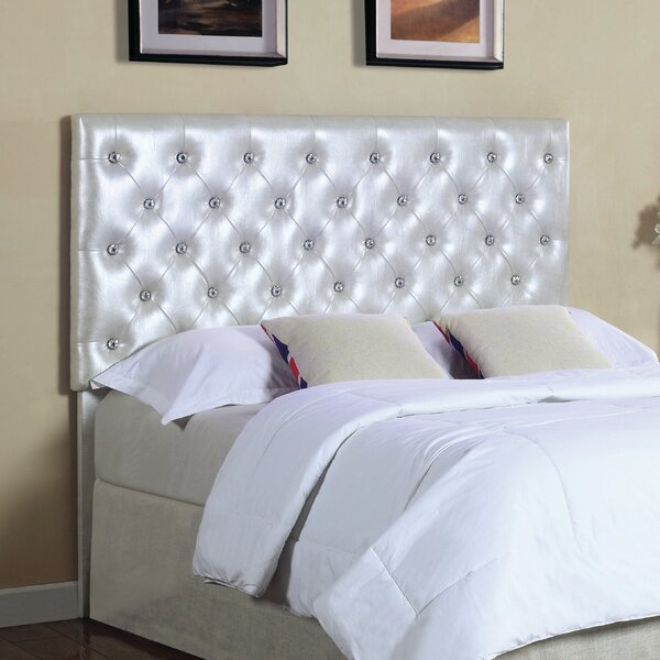 Donica Upholstered Panel Headboard by House of Hampton