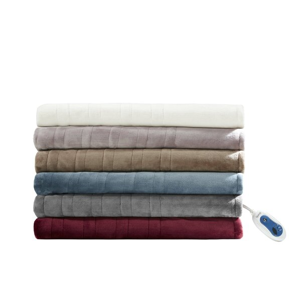 Heated Plush Oversized Throw by Beautyrest