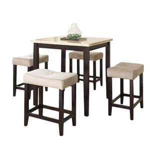 Pub tables sets joss main skeens 5 piece counter height dining set watchthetrailerfo