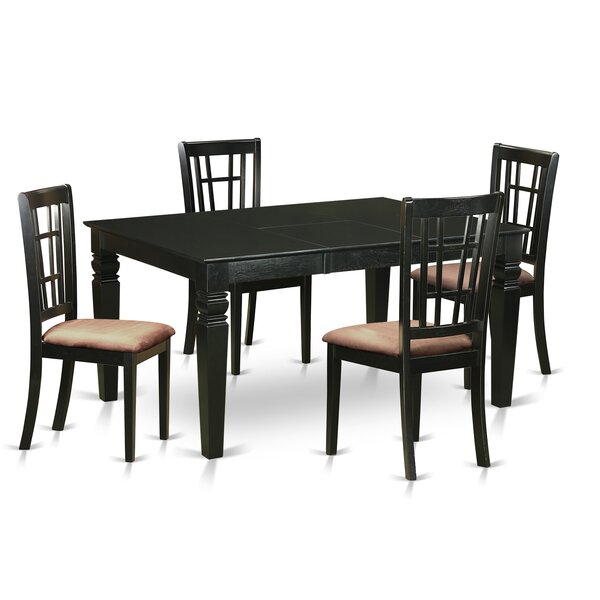 Belcourt 5 Piece Extendable Dining Set by Darby Home Co