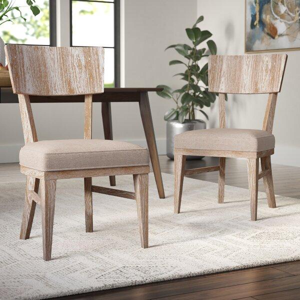 Belmar Upholstered Dining Chair (Set Of 2) By Brayden Studio Brayden Studio