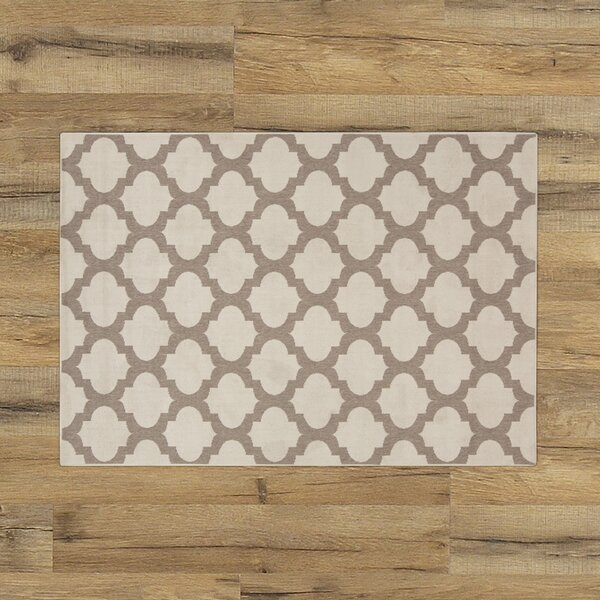 Odell Taupe Indoor/Outdoor Area Rug by Birch Lane™