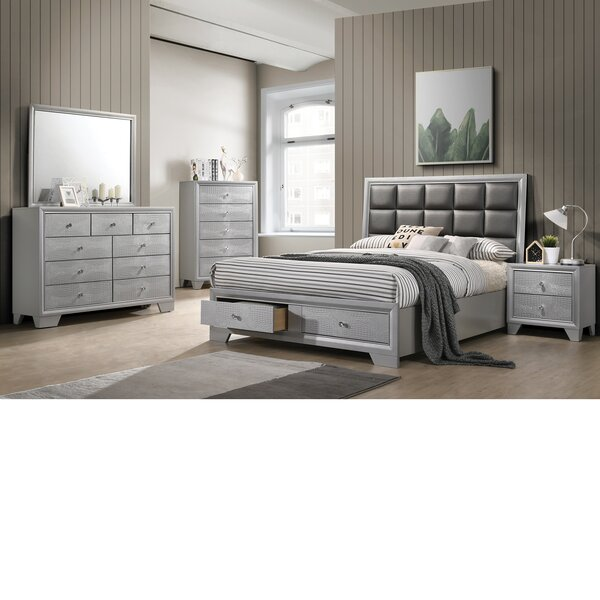 Sciortino Platform 4 Piece Dresser Set by House of Hampton