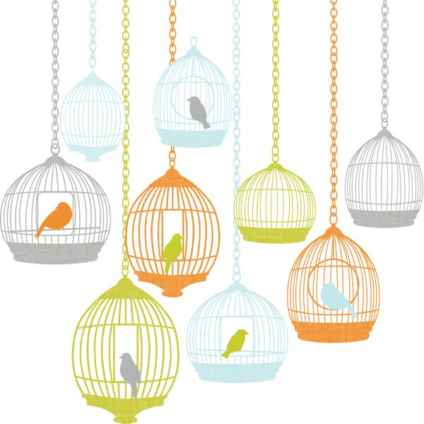 Landon Large Birdcage Wall Decal by Viv + Rae