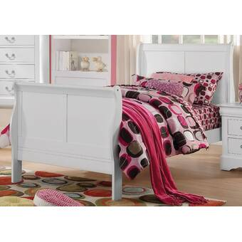 Alcott Hill Tabares Leatherette King Upholstered Sleigh Bed Wayfair