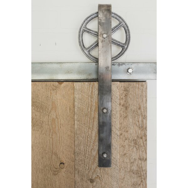 Traditional Spoked Sliding Barn Door Hardware by Artisan Hardware