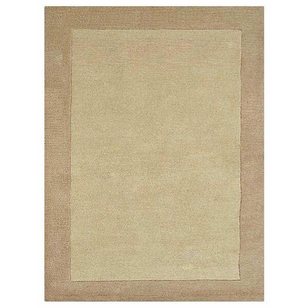 Manns Hand-Woven Beige/Light Brown Area Rug by Union Rustic