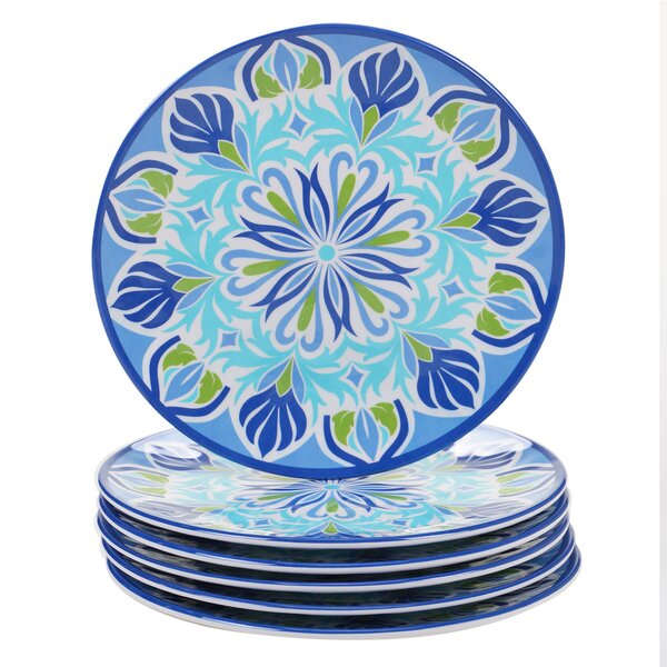 Looking for Hoehne Melamine Salad Plate (Set Of 6) By Alcott Hill Cheap