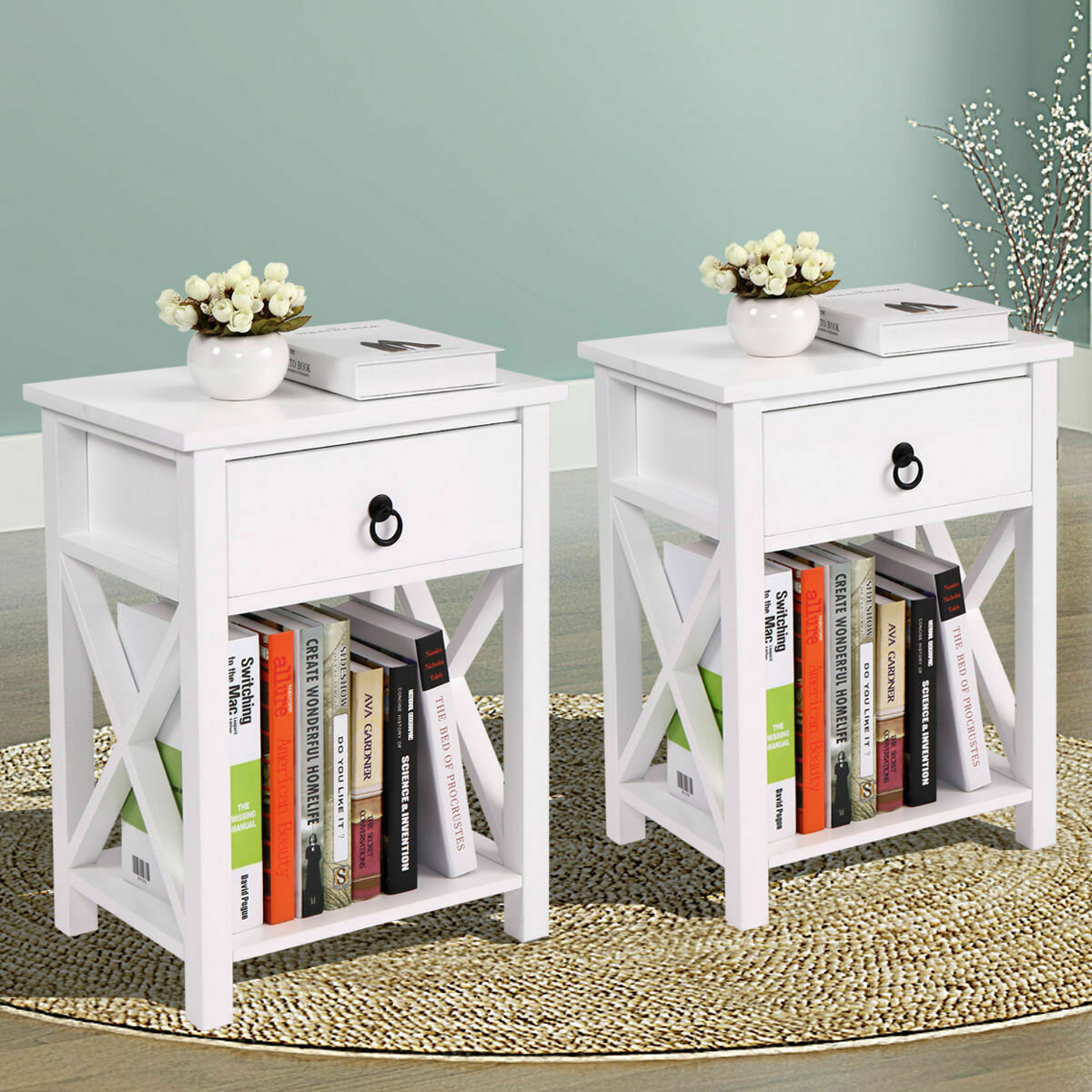 Orren Ellis Utgard 1 Drawer Nightstand Reviews Wayfair