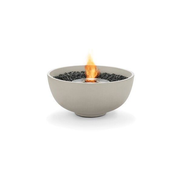 Urth Concrete Bio-ethanol Fuel Fire Pit by Brown Jordan Fires
