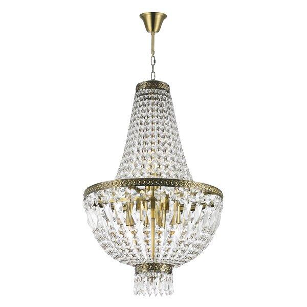 Weisser 6-Light Unique / Statement Empire Chandelier by Astoria Grand Astoria Grand
