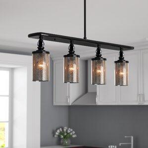 clay 4 light kitchen island pendant. beautiful ideas. Home Design Ideas