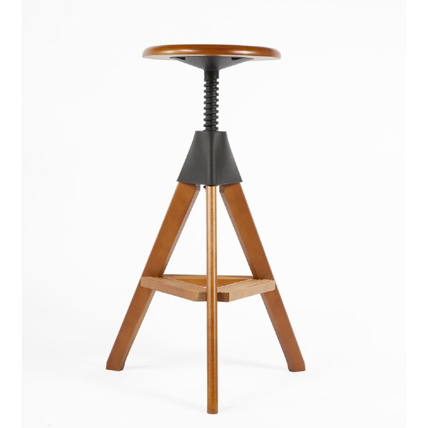 Adjustable Height Bar Stool by dCOR design